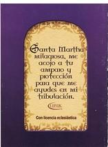 Oraciones a Santa Martha - LS253 image 2
