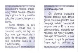 Oraciones a Santa Martha - LS253 image 3