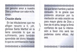 Oraciones a Santa Martha - LS253 image 4