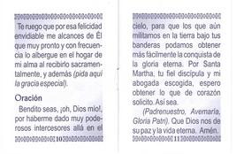 Oraciones a Santa Martha - LS253 image 5