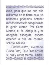 Oraciones a Santa Martha - LS253 image 7