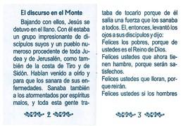 Bienventuransas Y Huellas del Senor image 3