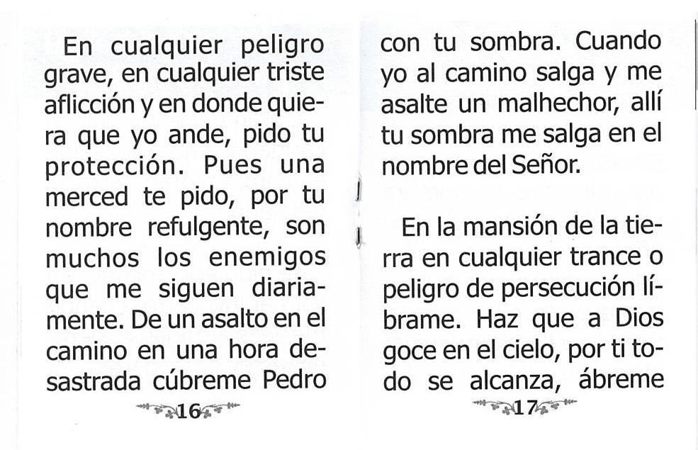 Oración a la Sombra de San Pedro and 50 similar items