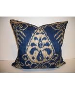 Sapphire Ikat Accent Pillow - $95.00