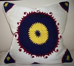 Vintage Suzani Bolinpush Pillow - $185.00