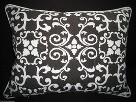 Chocolate Brown Garden Gate Accent Pillow - $75.00