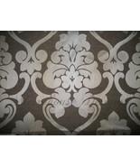 """Robert Allen / Beacon Hill """"Dahlia Gardens"""" Ombre Damask Textile ~ Drift... - $250.00"""