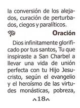 Oraciones a San Charbel Majluf - LS224 image 6