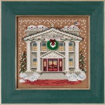 City Bank Christmas Village Winter Mill Hill 2015 Button and Bead kit Mi... - $12.60