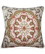 EMBROIDERED SUZANI ACCENT PILLOW - $125.00