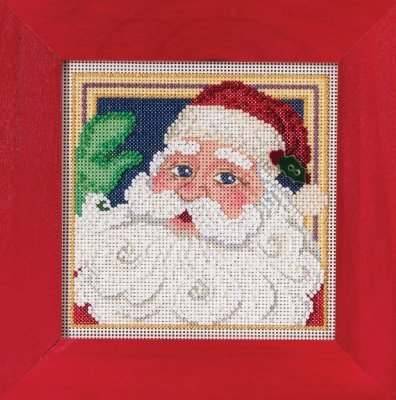 Primary image for Jolly St. Nick Winter Mill Hill 2015 Button and Bead kit Mill Hill