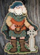 Celtic Scotland Santa 2015 Santa Ornament Kit cross stitch Mill Hill - $7.20