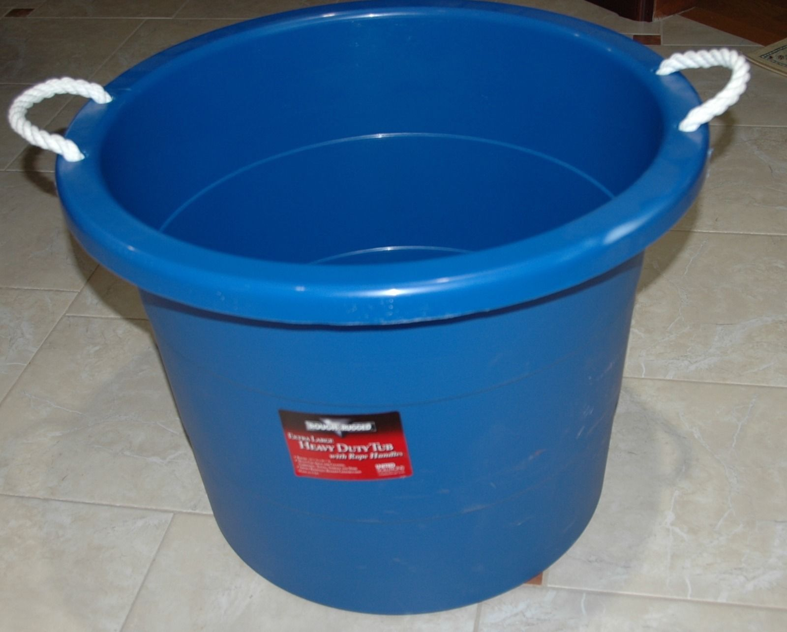 storage decorative metal side sunscreen yellow products southern painted tub bucket galvanized bin a