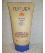 (Original) NATURA Seaweed Plus RECONSTRUCTOR For Dry Damaged Hair ~ 5 fl... - $6.14