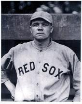 Babe Ruth Boston Red Sox 1916 Vintage 8X10 BW Baseball Memorabilia Photo - $4.99