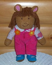 """Arthur -Marc Brown- 15"""" Sister D.W. in Pink Play Time Cord Overalls - $8.99"""
