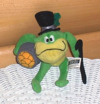 "Michigan J Frog Warner Bros 7"" Wears Top Hat & Carries Cane & Pot of Gold - $7.95"