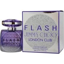 JIMMY CHOO FLASH LONDON CLUB EAU DE PARFUM SPRAY 3.4 OZ**LIMITED EDITION... - $70.39