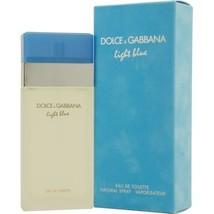 DOLCE & GABBANA  LIGHT BLUE EDT PERFUME SPRAY 3.3 OZ**Clean/Refreshing S... - $69.59