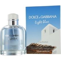DOLCE & GABBANA LIGHT BLUE LIVING STROMBOLI POUR HOMME EDT SPRAY 4.2 OZ ... - $76.79