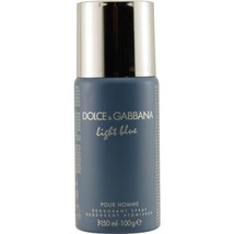 DOLCE & GABBANA D & G LIGHT BLUE  POUR HOMME DEODORANT SPRAY 3.6 OZ Men - $38.39
