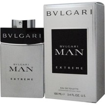 BVLGARI MAN EXTREME EDT SPRAY 3.4 OZ Men**Attractive Scent/He Will LOVE!! - $59.99
