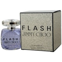JIMMY CHOO FLASH EAU DE PARFUM SPRAY 3.3 OZ for Women**Larger Size/Great... - $61.59