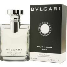 BVLGARI POUR HOMME SOIR EDT SPRAY 1.7 OZ for Men**Unique Scent/Casual Wear - $42.39