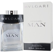 BVLGARI MAN EDT SPRAY 3.4 OZ for Men**Casual Wear-He will LOVE this Scent!! - $59.99