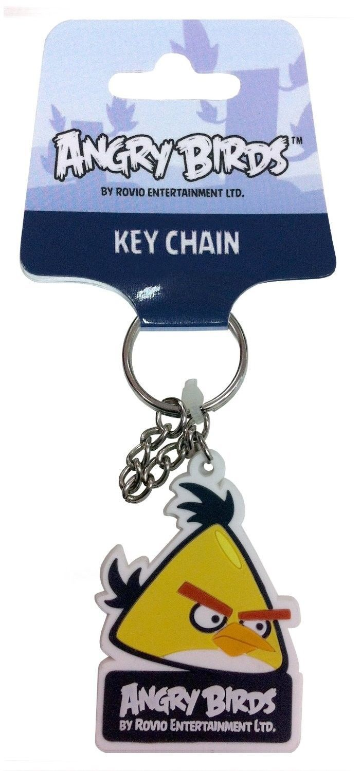 Angry Birds 3200770 'Yellow Bird' Rubber Key Ring