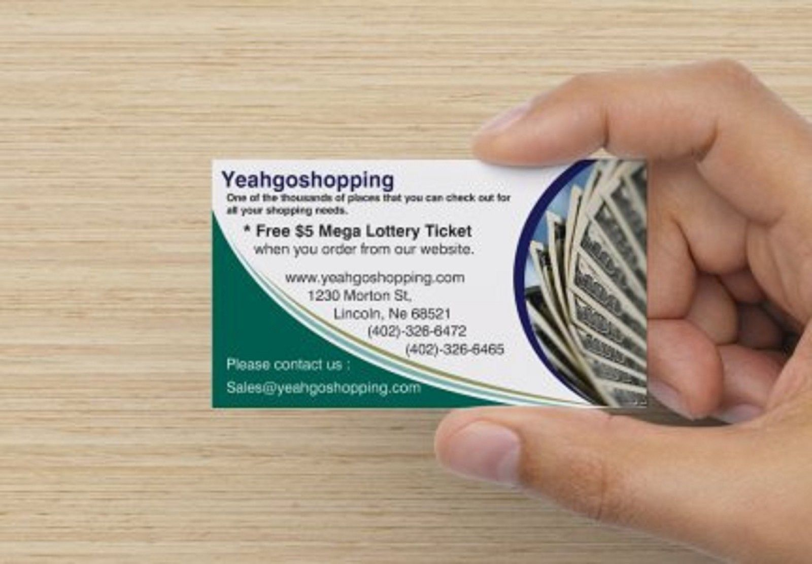 Put your Banner on yeahgoshopping.com (365 days) - More visitors to your site...