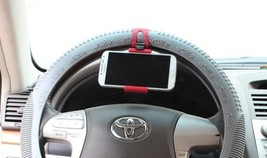 Universal Car Streeling Steering Wheel Cradle Holder SMART Clip Bike Mount