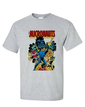 Micronauts T-shirt 80s retro comics toys graphic tee cotton blend graphic tee image 2