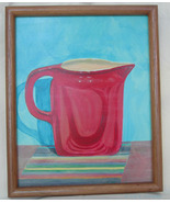 Red Pitcher - $50.00