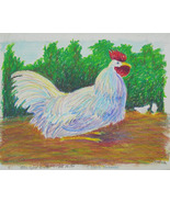 Blue Eyed Rooster - $75.00