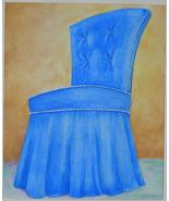 Blue Slipper Chair - $75.00