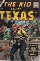 THE KID FROM TEXAS #2 (1957) Marvel Atlas Comics VG+ Joe Sinnott artwork - $14.84