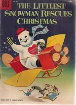 THE LITTLEST SNOWMAN RESCUES CHRISTMAS Dell Four-Color #864 1957 Dell Co... - $12.86