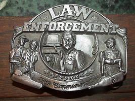Law Enforcement Belt Buckle 1989 Limited Edition 1693/5000 Arroyo Grande - $18.59