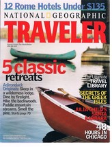 National Geographic TRAVELER April 2002-Greek Isles-Julia Child's Santa ... - $9.99