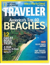 National Geographic TRAVELER July 2002 - America's Top 40 Beaches-Yo-Yo ... - $9.99