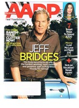 AARP Magazine August 2014- Jeff Bridges - Cher - Banish Your Clutter - $5.99