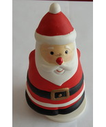 Retired Mount Clemens Pottery Collectible Santa Christmas Wind Up Musica... - $19.99