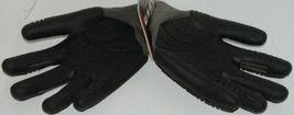 MADGRIP 495725 Thunderdome Impact Gloves Black Grey Rubber XL image 3