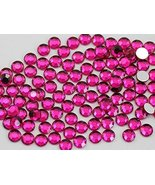 2mm SS7 Pink Fuchsia A27 Acrylic Rhinestones For Face Painting, Lead Fre... - $6.44