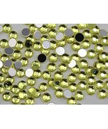 2mm SS7 Yellow Jonquil A12 Acrylic Rhinestones For Face Painting, Lead F... - $6.44