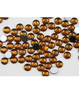 2mm SS7 Brown Smokey Topaz A22 Acrylic Rhinestones For Face Painting, Le... - $6.44