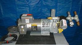 ALLEGRO 9832-S Rotary Vane Breathing Air Compressor Baldor 1.5 Hp 115/23... - $1,519.75