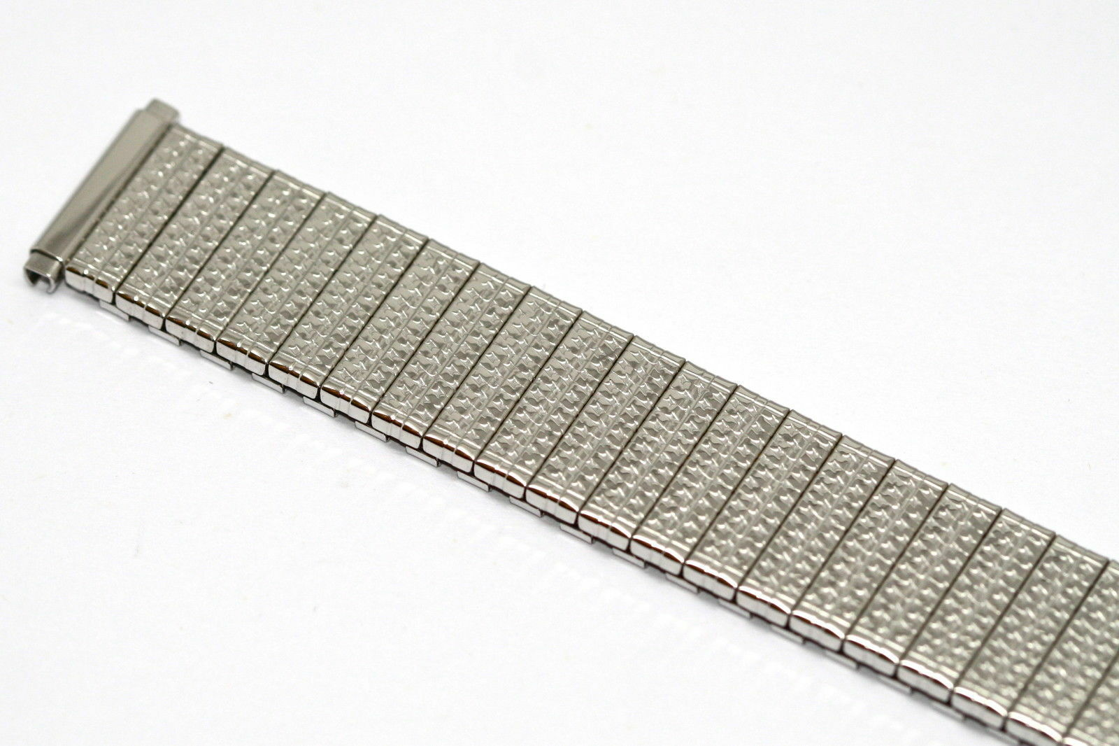 Primary image for SPEIDEL 16-21MM SHORT SILVER TWIST O FLEX EXPANSION WATCH BAND STRAP