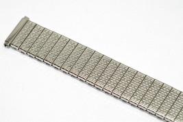 SPEIDEL 16-21MM SHORT SILVER TWIST O FLEX EXPANSION WATCH BAND STRAP - $19.79